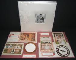 Vintage Wedding Album Vintage 70s 80s Large Ornage Vintage Framed Photo Frame Collage