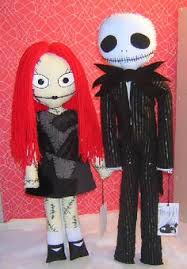 the nightmare before ninni doll set sally and