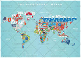 Show World Map by Melbourne Map Centre