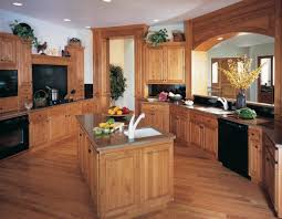 wooden furniture for kitchen black kitchen appliances with oak cabinets outofhome