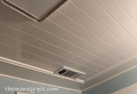 Ceiling Ideas For Bathroom Installing A Beadboard Ceiling The Six Fix