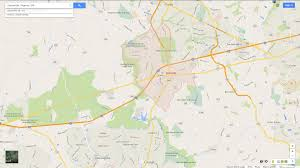 Town Maps Usa by Centreville Virginia Map