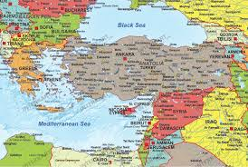 Political Map Of Middle East by Refugee Map Europe Middles East North Africa Political