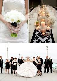 mariage baroque noir et blanc damask tendance boutik - Mariage Baroque