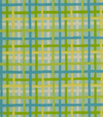 robert allen home outdoor fabric baja plaid turquoise camping