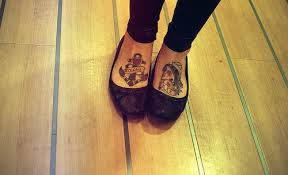foot anchor tattoo image in 2017 real photo pictures images and