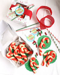 candy cane shortbread cookies the suburban soapbox