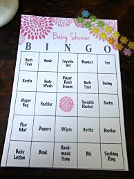 Baby Shower Barbie by Baby Shower Bingo Guest Play During The Gift Opening All Things
