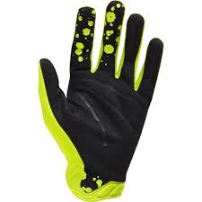 monster energy motocross gloves fox racing 2016 limited edition airline a1 kroma gloves flo yellow