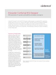 conformal eco flow electronic design areas of computer science