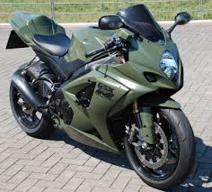 2005 2006 suzuki gsxr1000 army green motorcycle fairing kit