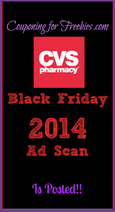 cvs black friday ad scan 2014 more freebies http