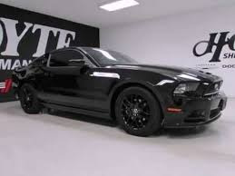 Black Mustang 2014 Used 2014 Ford Mustang V6 Premium Sherman Tx Youtube