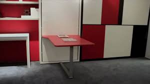 telemaco desk resource furniture wall bed systems youtube