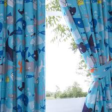 ben de lisi home kids sharkey pair of curtains 168cm x 137cm ben de lisi home kids sharkey pair of curtains 168cm x 137cm drop ben de lisi home amazon co uk kitchen home