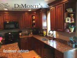how much does it cost to restain cabinets kitchen cabinet refinishing 1 3 cost of replacing or refacing youtube