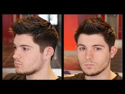 mens haircuts step by step gq men s haircut thesalonguy youtube