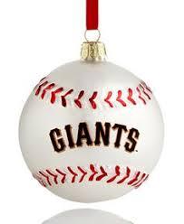 san francisco giants mlb 12 pack plastic ornament set