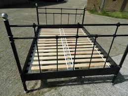 fresh antique iron bed frame queen 8275