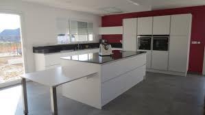 cuisine blanc mat sans poign déco cuisine blanc mat sans poignee 97 pau 19352226 simple