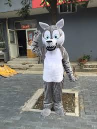 mascot costumes for halloween online get cheap wolf mascot aliexpress com alibaba group