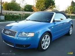 2004 audi s4 blue 2004 sprint blue pearl effect audi s4 4 2 quattro cabriolet