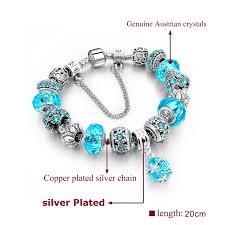 bracelet style pandora with charms images Pandora style charm bracelet for women 16 styles jpg