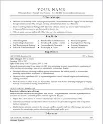 office manager resume best solutions of office manager resume sles with