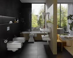 bathroom black tiles ideas deluxe modern white full size bathroom design pictures interior style industry standard for