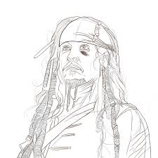 lamborghini aventador drawing outline captain jack sparra u0027 johnny depp brian spelled backwards is nairb