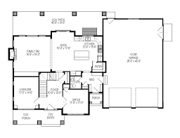 Floor Plans For Bungalow Houses Craftsman Style House Plan 6 Beds 4 50 Baths 2969 Sq Ft Plan 920 36