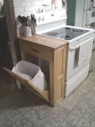 meuble poubelle cuisine l idée déco du dimanche un meuble pour dissimuler la poubelle