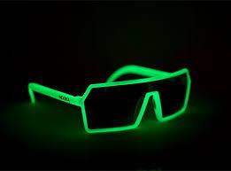 glow in the nooka mercury glow in the sunglasses highsnobiety