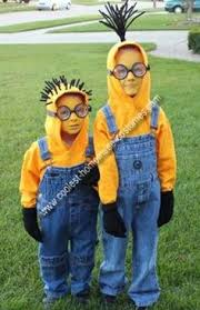 Minion Halloween Costumes Girls Diy Goggles Perfect Craft Party Cut Toilet Paper