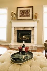 traditional looking fireplace