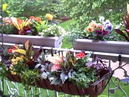 how to balcony gardening with completed 2 tier planters youtube