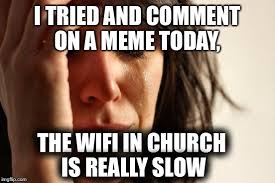 Get Off The Phone Meme - maybe it was a sign from god to get off the phone imgflip