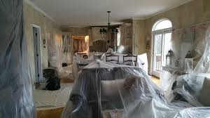 dust containment during your next interior painting project