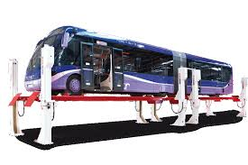 Low Ceiling 2 Post Lift by Bus Lifts From Stertil Koni Stertil Koni Usa