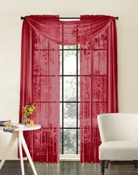 Bright Red Sheer Curtains Cheap Door Panel Sheer Curtains Find Door Panel Sheer Curtains