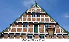 picture of german houses typical german house from clay and