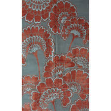 Floral Area Rug Japanese Floral Area Rug By Florence Broadhurst On Artnet