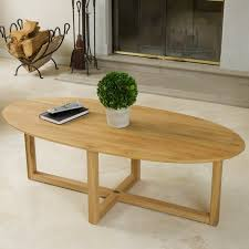 Oval Wood Coffee Tables 20 Top Wooden Oval Coffee Tables