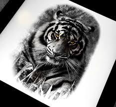 fire tiger tattoo group 87