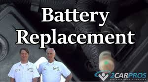 battery replacement saturn vue 2002 2007 youtube