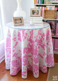 pink round table covers great pink round tablecloth designs regarding tablecloths