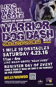 warrior dog dash u0027 is april 23 at western western illinois
