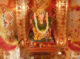 hindu decorations for home ganesh chaturthi decoration ideas for home