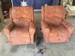 electric recliner chairs armchairs gumtree australia logan