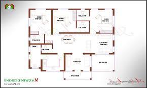 4 bedroom house plans in kerala single floor memsaheb net